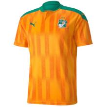 2020/21 Ivory Coast Home Orange Fans Soccer Jersey