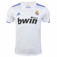 2010/11 RM White Home Retro Soccer Jersey