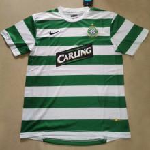 2007/08 Celtic Home Green Retro Soccer Jersey