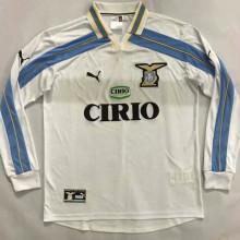 1999-2000 Lazio Long Sleeve Retro Soccer Jersey