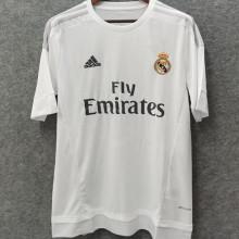 2015-2016 RM White Home Retro Soccer Jersey