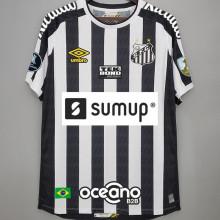 2021/22 Santos 1:1 Away Fans Jersey 有解放者3臂章 (Have Libertadores 3 Patch+ALL AD)