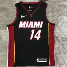 2021 Miami Heat HERRO #14 Black NBA Jerseys Hot Pressed