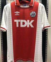 1989/91 Ajax Home Retro Soccer Jersey