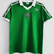 1980 Celtic Home Green Retro Soccer Jersey