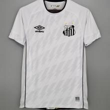 2021/22 Santos 1:1 Qualit Home White Fans Soccer Jersey