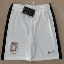 2020 South Korea White Shorts Pants