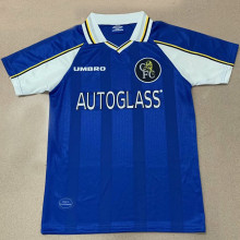 1998 CFC Home Blue Retro Soccer Jersey
