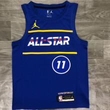 2021 ALL STAR IRVING # 11 JD Blue NBA Jerseys Hot Pressed