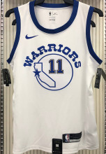 Warriors THOMPSON #11 White Socks NBA Jerseys Hot Pressed