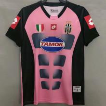 2003 JUV Retro Pink Black Soccer Jersey