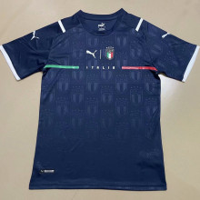2021/22 Italy Royal Blue Third Fans Soccer Jersey