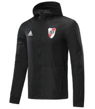 2020/21 River Plate Black Windbreaker