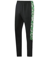 2021/22 Man City Black And Green Sports Trousers