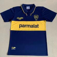 1994 Boca Home Blue Retro Soccer Jersey