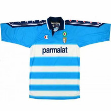 1999-00 Parma GK Blue White Retro Soccer Jersey