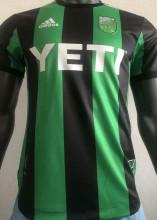 2021 Austin Home Green Black Player Version Soccer Jersey