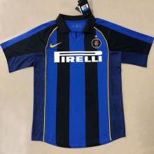 2001-2002 In Milan Home Retro Soccer Jersey