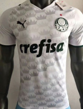 2021/22 Palmeiras Away White Player Version Soccer Jersey