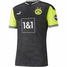 2021 BVB Commemorative Edition 1:1 Quality Black Fans Soccer Jersey