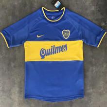 1999/2000 Boca Junior Home Retro Soccer Jersey