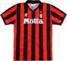 1993-94 AC Milan Home Retro Soccer Jersey
