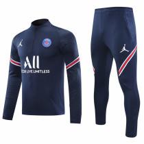 2020/21 PSG JD Royal Blue Sweater Tracksuit