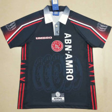 1997-1998 Ajax Away Retro Soccer Jersey