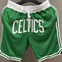 Celtics Green NBA Pants Embroidery刺绣
