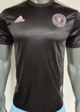 2021 Inter MM Black Player Version Soccer Jersey