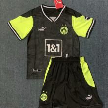 2021 BVB Commemorative Edition Black Kids Soccer Jersey