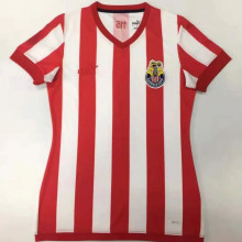 2021 Chivas 115Year Red Whte Women Soccer Jersey