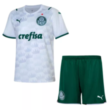 2021/22 Palmeiras Away White Kids Soccer Jersey