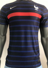2020/21 France Home Player Version Soccer Jersey