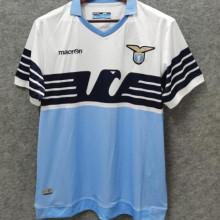 2014/15 Lazio Home Blue And White Retro Soccer Jersey