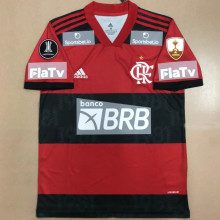 2021/22 Flamengo 1:1 Quality  Fans Soccer Jersey ( All AD 新全广告Have Libertadores 2 Patch 有解放者二字杯)