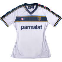 2002/03 Parma Away White Retro Soccer Jersey