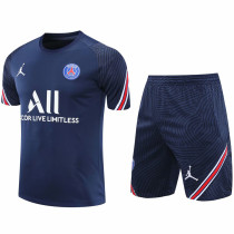 2020/21 PSG JD Blue Short Training Jersey(A Set)