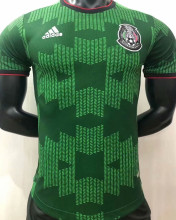 2021 Mexico Green Player Soccer Jersey