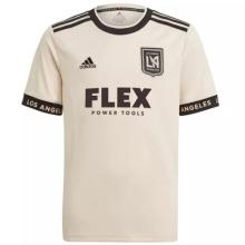 2021 LAFC Away White Fans Soccer Jersey
