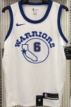 Warriors YOUNG #6 White Socks NBA Jerseys Hot Pressed