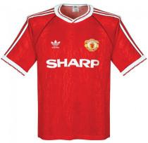 1990-1992 M Utd Home Retro Soccer Jersey