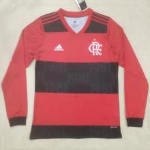 2021/22 Flamengo Home Long Sleeve Soccer Jersey