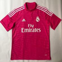 2014-2015 RM Away Pink Retro Soccer Jersey