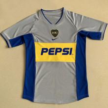 2002 Boca Away Retro Soccer Jersey