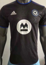 2021 CF Montréal Home Black Player Version Soccer Jersey