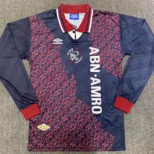 1994-1995 Ajax Away Retro Long Sleeve Soccer Jersey