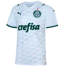 2021/22 Palmeiras 1:1 Quality Away White Fans Soccer Jersey