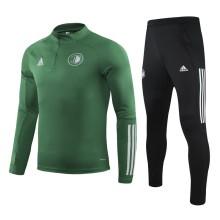 2020/21 Feyenoord Green Sweater Tracksuit