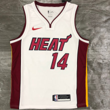 2021 Miami Heat HERRO #14 White NBA Jerseys Hot Pressed